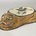 Cizhou Ware Pillow in the Form of a Tiger