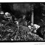 Legnava I, Bratislava, Czechoslovakia; Woods, Women Sleeping