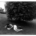 Untitled (Woman Reading Under a Treee), from Women are Beautiful Series