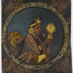 Manco Capac, First Inca, 1 of 14 Portraits of Inca Kings