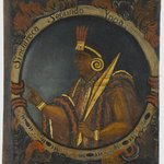 Sinchi Roca, Second Inca, 1 of 14 Portraits of Inca Kings