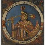 Mayta Capac, Fourth Inca, 1 of 14 Portraits of Inca Kings