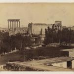 Balbek: view of the Acropolis