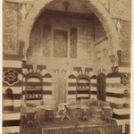 Damascus- Reception room of the German Consulate