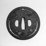 Tsuba (Sword Guard) with Shippo (Seven Treasures) Design