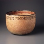 Bowl with Glyphs Around Rim