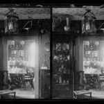 Rem Lefferts House, Interior, Fulton Street opposite Arlington Place near Bedford, Brooklyn