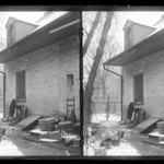 Rem Lefferts House, Rear, Fulton Street opposite Arlington Place near Bedford, Brooklyn