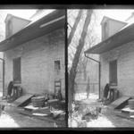 Rem Lefferts House, Rear, Fulton Street opposite Arlington Place near Bedford, Brooklyn