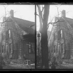 Rem Lefferts House, East Gable, Fulton Street opposite Arlington Place near Bedford, Brooklyn