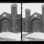 Brooklyn Kings County Penitentiary, Rogers Avenue Entrance opposite Carroll Street, Brooklyn