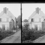 J. Birdsall House, West Gable, Children, Flatbush Avenue opposite Fenimore Street, Flatbush, Brooklyn