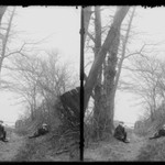 Hunts Lane, Ralph and Marshall, Rustic Gable, Looking North West, Foot 62nd Street, Bay Ridge, Brooklyn