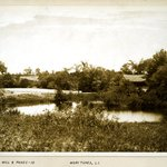 Saw Mill and Ponds, Moriches, Long Island
