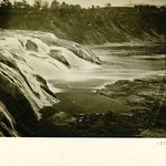 Cohoes Falls Looking Sideways, New York