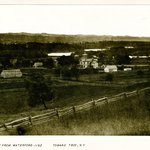 View from Waterford, toward Troy, New York