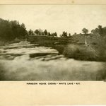 Mansion House, Rear of Hotel, White Lake, Sullivan County, New York