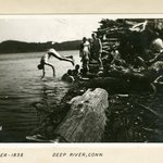Diver, Deep River, Connecticut