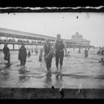 Bathers, Steel Pier, Coney Island, Brooklyn
