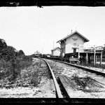Railroad Station, Quogue, Long Island