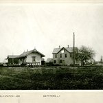 Hotel and Station, Smithtown, Long Island