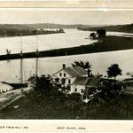 View from Hill, Deep River, Connecticut