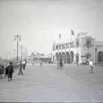 Coney Island Boardwalk and Childs Restaurant