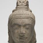 Head of a Male Deity