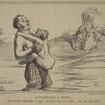 The First Swimming Lesson (La Première leçon de natation)