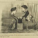 Voyons, ma Femme, Fais-moi le Plaisir de Rester Encore un Peu en Communication avec Monsieur Adolphe...