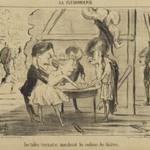 Les Tables Tournantes Moralisant les Coulisses des Théâtres