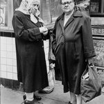Lower East Side N.Y.C (Two Elderly Women on Street)