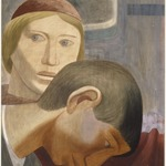 [Untitled] (Study of Two Heads)
