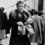 Woman with Paper Bags (Blake Avenue)