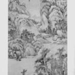 Mountain Landscape in the Style of Wu Zhen