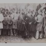 Mozaffar al-Din Shah and his Entourage, One of 274 Vintage Photographs