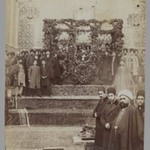 At the Catafalque of the late Mozaffar al-Din Shah,  One of 274 Vintage Photographs