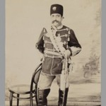 Full-length Portrait of Mozaffar al-Din Shah, One of 274 Vintage Photographs