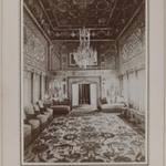 Persian Room in Mooven-el-Dowlehs Old Home, 1900, One of 274 Vintage Photographs
