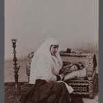 Woman Rocking her Childs Cradle,  One of 274 Vintage Photographs