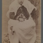 A Persian Woman Holding her Braids, One of 274 Vintage Photographs