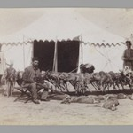 Prince Abdul Husayn Mirza (Farma Farmaian) Seated before Hunted Gazelles, One of 274 Vintage Photographs