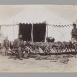 Prince Abdul Husayn Mirza (Farma Farmaian) Seated before Hunted Gazelles, One of 274 Vintage Photographs
