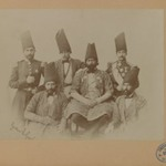 Members of the Special Mission of Persia to the Courts of Europe led by Farroukh Khan, Amin al-Dowleh, One of 274 Vintage Photographs