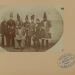 Farroukh Khan, Amin al-Dowleh and his Suite with French Officials, One of 274 Vintage Photographs
