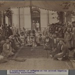 A Consultation of Refugees at the British Legation Demanding Constitution II,  One of 274 Vintage Photographs