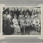 General Yanushkevich and the Russian Consul at a Garden Party given by the Persian Crown Prince at Tabriz,  One of 274 Vintage Photographs