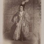 Photogragh of a Water Painting of Nasr-al-Din Shah as a Youth, Tehran, 1846,  One of 274 Vintage Photographs