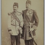 Two Royal Officers in Full Uniform, One of 274 Vintage Photographs