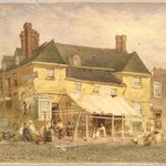 William Penns Mansion, South Second Street, Philadelphia, 1864